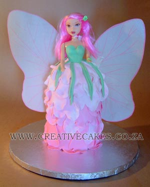 fairy barbie cake