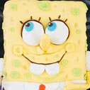 spongebob square pants cake