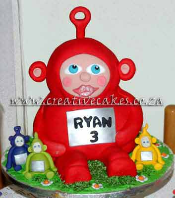 Teletubbies Cake - Teletubbies Cake is Perfect for a Teletubbies Party